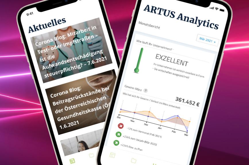 Die ARTUS App