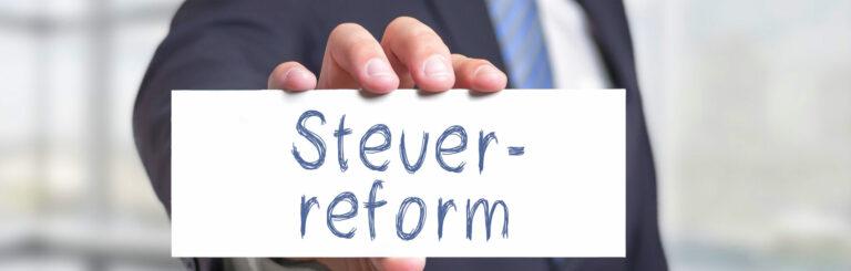 Steuerreform 2022 - 6.10.2021